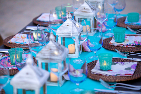 teal-and-white-weddings