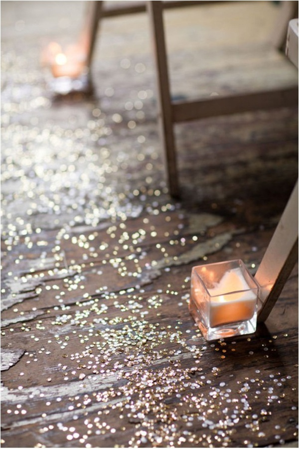 angel-in-the-north-blog-wedding-styling-ideas-aisle-decor-glitter-sparkle-confetti-and-candles